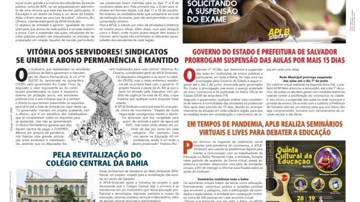 Boletim Rede Estadual Maio de 2020