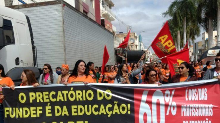 Delegacia do Feijão – 60% dos precatórios do Fundef é da Educação