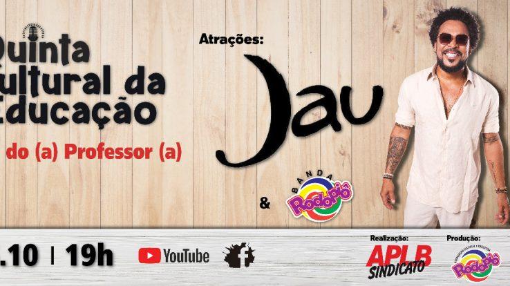 JAUPERI SE APRESENTA EM LIVE DA APLB PARA HOMENAGEAR PROFESSORES (AS)
