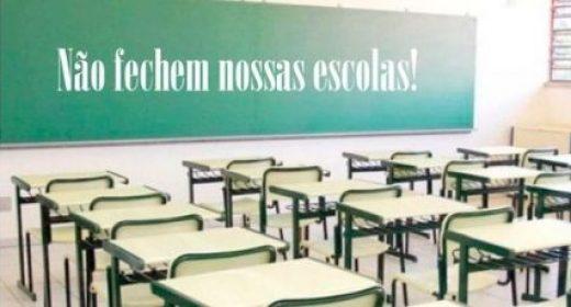 APLB apoia resistência de educadores contra fechamento do Centro Estadual de Educação Santa-Mariense, em Santa Maria da Vitória
