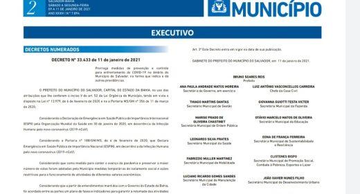 Covid-19: Aulas na rede municipal e privada de Salvador permanecem suspensas