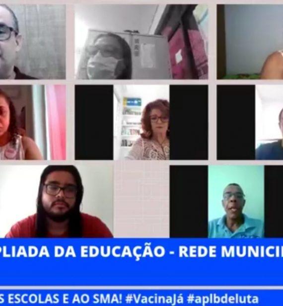 REDE MUNICIPAL DE SALVADOR REALIZA REUNIÃO EXITOSA!