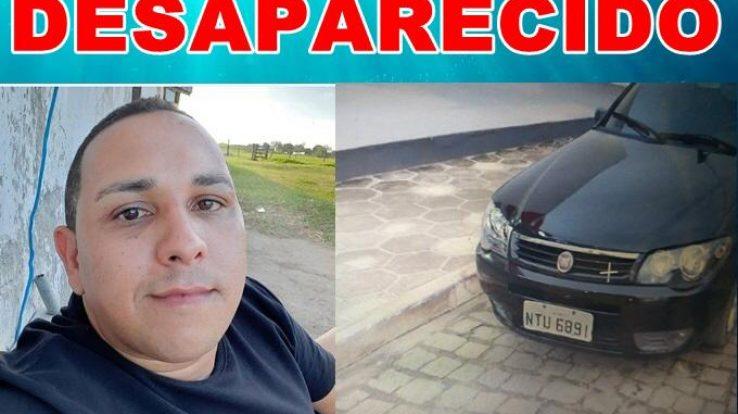 Família procura professor desaparecido há oito dias