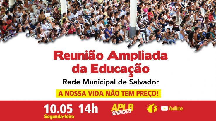 APLB CONVOCA CATEGORIA PARA REUNIÃO AMPLIADA (10/5), 14H