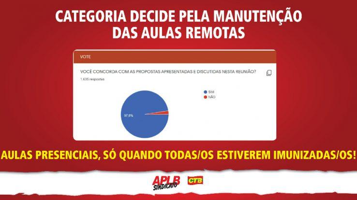 CATEGORIA REAFIRMA LUTA EM DEFESA DA VIDA